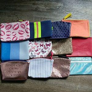 Bundle of 12 Assorted Ipsy Bags